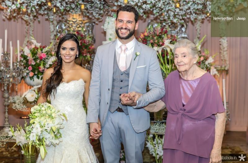 Veruska e Tiago Lobo, Lucilia Vieira