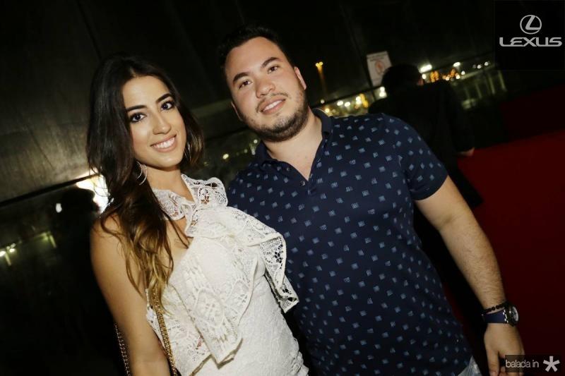 Manuela Linhares e Savio Batista