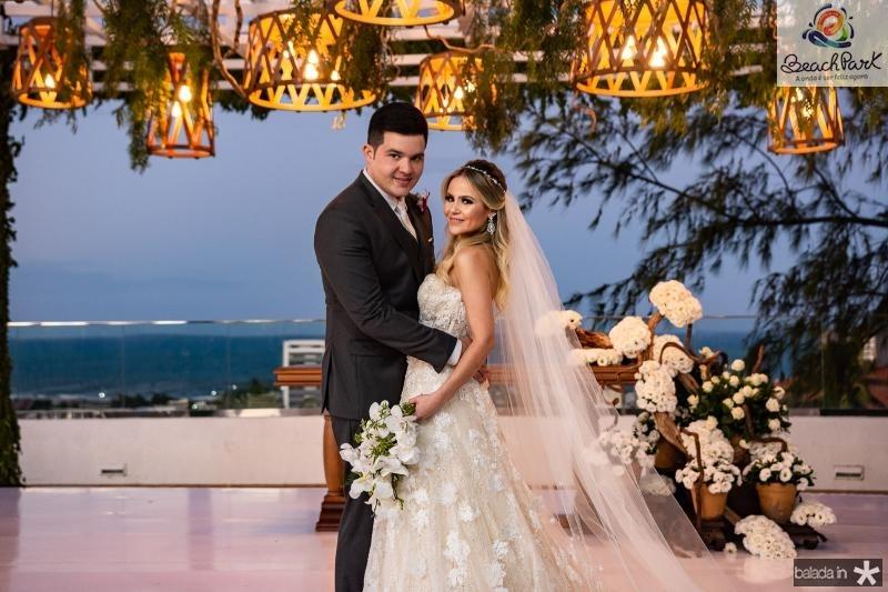 Pedro Vasconcelos e Erica Dantas (
