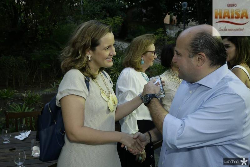 Sofia Holanda e Roberto Claudio