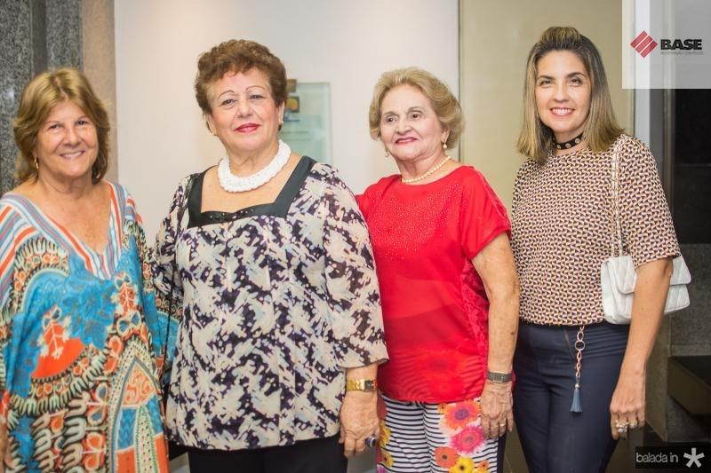 Ana Lucia Bastos, Catarina Marino, Marlene Cabral e Berenice Lins