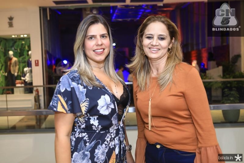 Aline Albuquerque e Silvia Morais