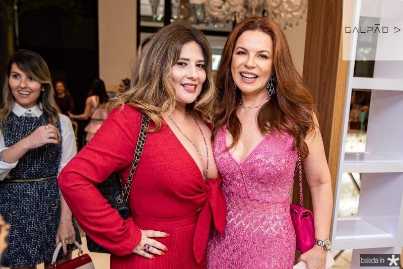 Montiele Arruda e  Claudia Quental