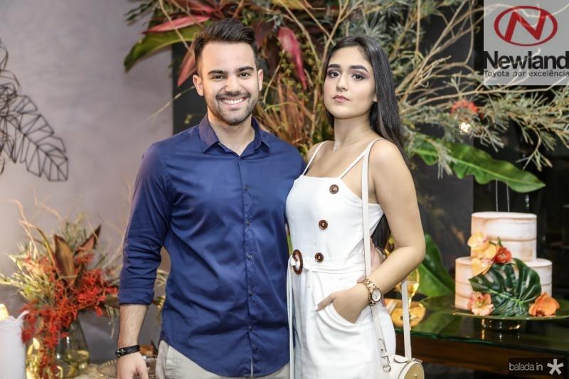 Gerardo Filho e Mariana Barroso