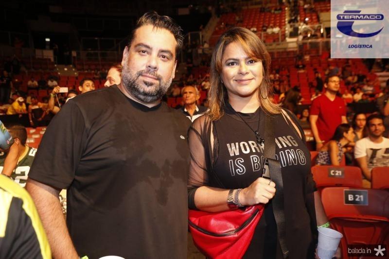 Andre Melo e Mauricia Gomes