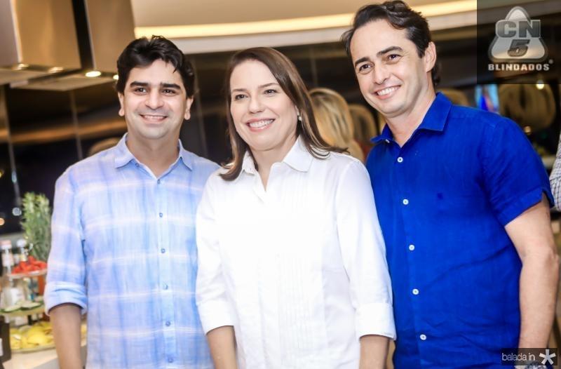Iratuan Freitas, Denise Bezerra e Jiacomo Braile