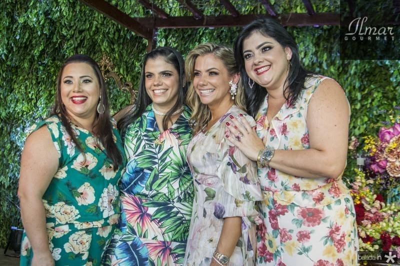 Vitoria Almada, Virginia Diogenes, Vanessa Queiros e Viviane Almada