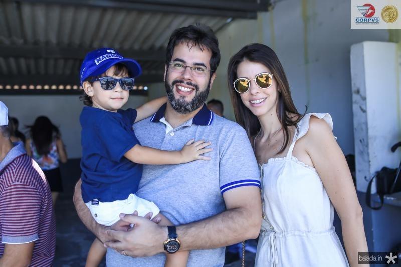 Joae Ricardo Carvalho, Isaac Pontes e Roberta Carvalho