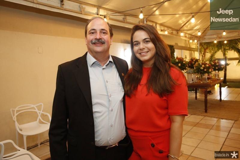 Paulo Andre e Mariana Holanda