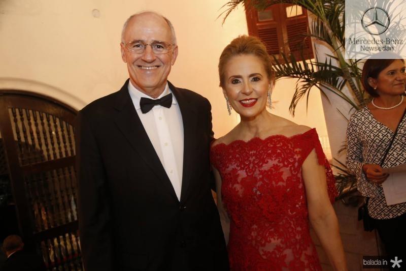 Ruy Castelo Branco e Teresa Tavora