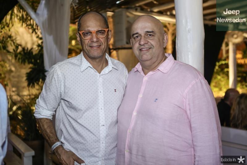 Mano Alencar e Claudio Milero