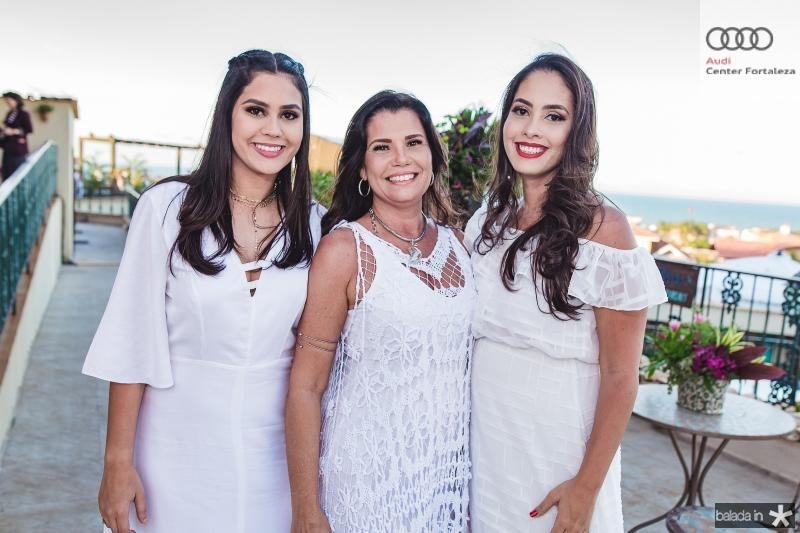 Perla Barreto, Delanne e Lara Barreto