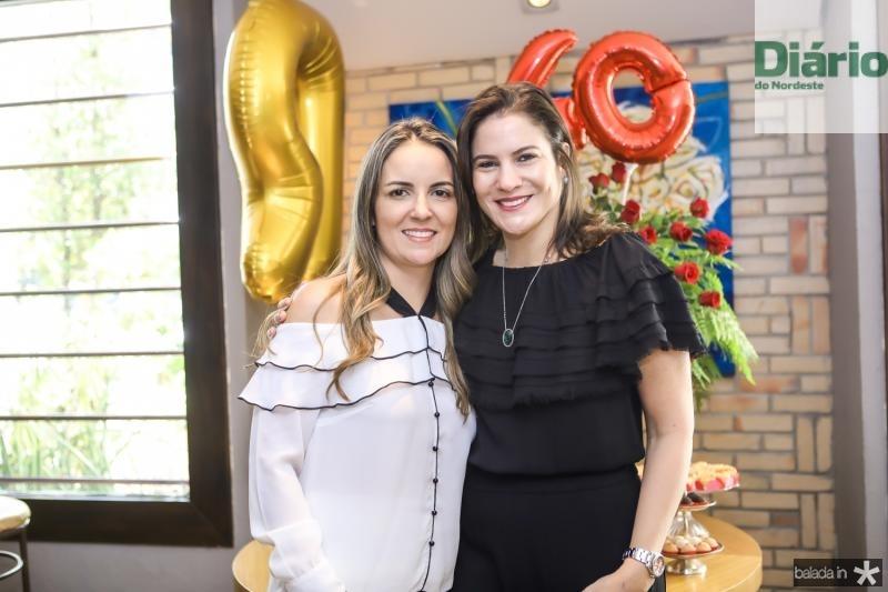 Raquel Vasconcelos e Luciana Borges