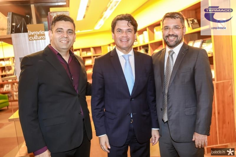 Ilo Avelino, Renan Viana e Savio Aguiar