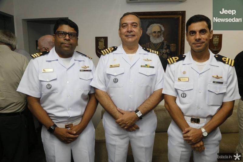 Jose Roberto, Madson Cardoso e Alexandre Silva