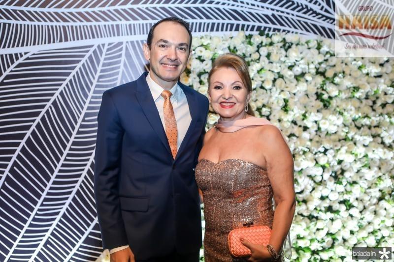 Bruno Menezes e Maria Vale