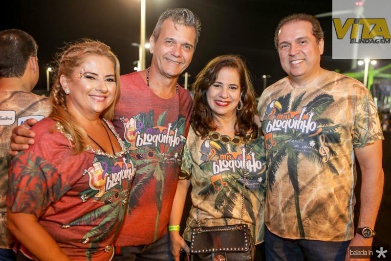 Beth Pinto, Luiz Barbosa, Martinha e George Assunçao