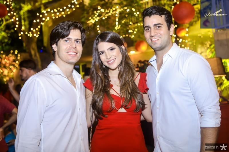 Daniel Porto, Daniele Nina e Felipe Tavora