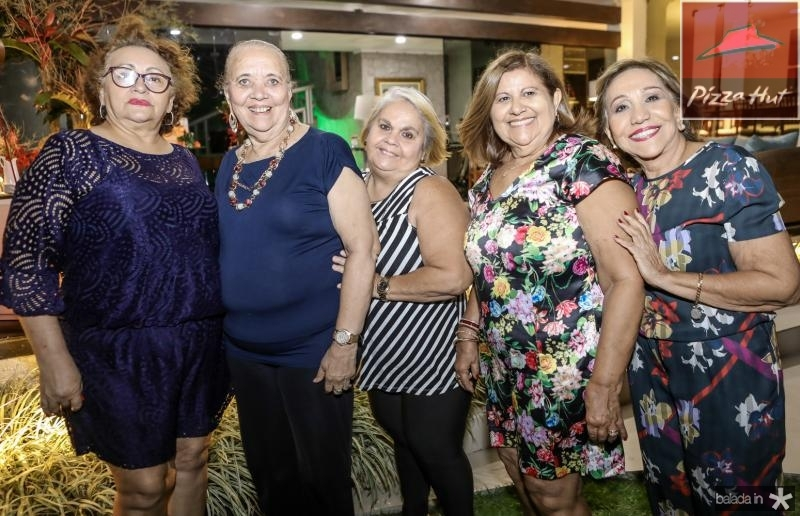 Silvia Mota, Tereza Maranhao, Francilene Alves, Carmen Celia e Simone Oliveira