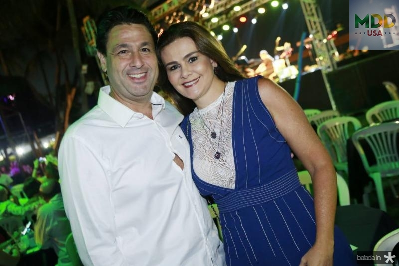 Alexandre Rangel e Ivana Bezerra