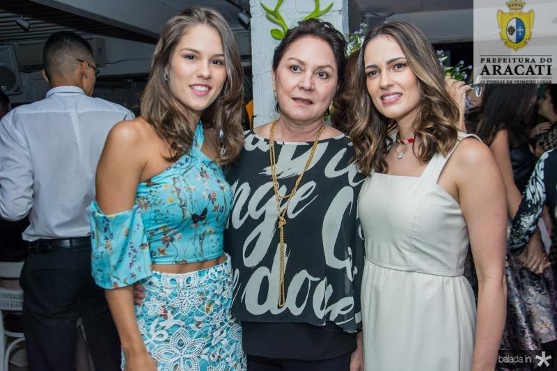Daniela Eloy, Paula Frota e Marilia Queiroz
