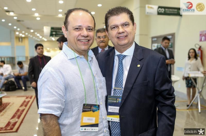 Claudio Ponho e Mauro Benevides Filho