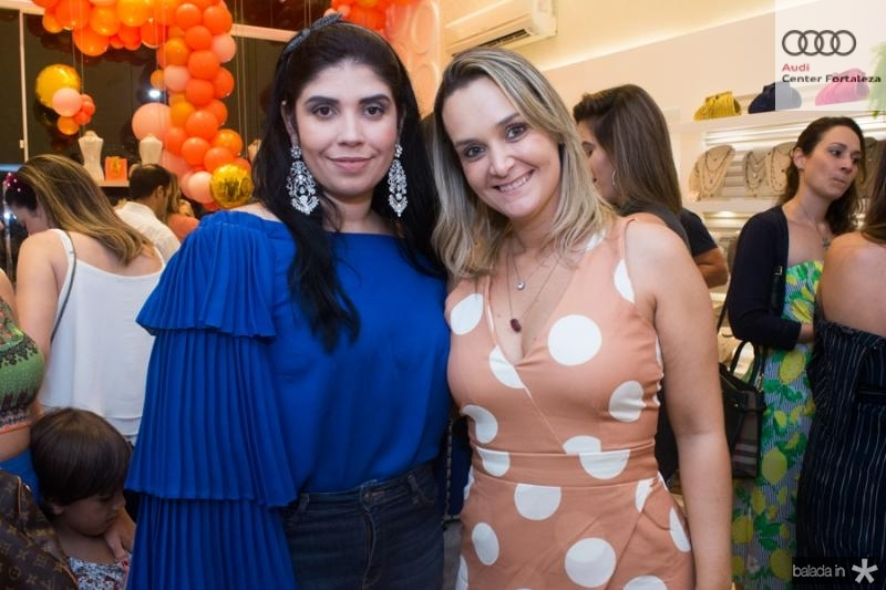 Talita Vieira e Aline Paz