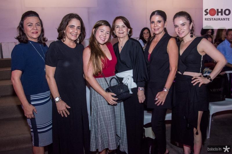 Guiomar Feitosa, Giana Studart, Maria Clara Negrao, Lenita Negrao, Maria Lucia Negrao e Sheila Brasil