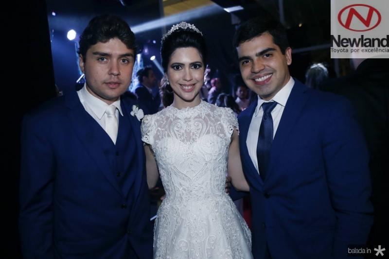 Igor Linhares, Lorena Aragao e Pedro Garcia