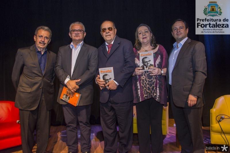 Egidio Serpa, Luis Sergio Santos, Regis Barroso, Siglinda Barroso e Igor Barroso