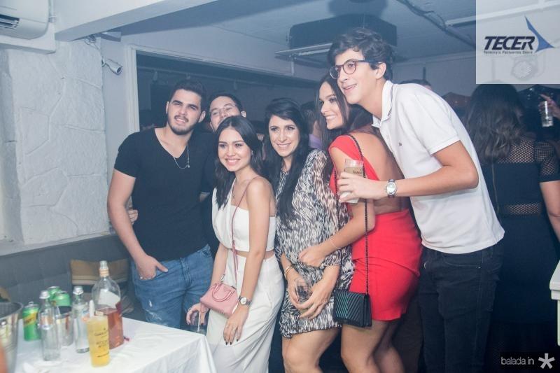 Igor Aragao, Lygia Duarte, Fernanda Sousa, Mariana Vieira e Rafael Oliveira