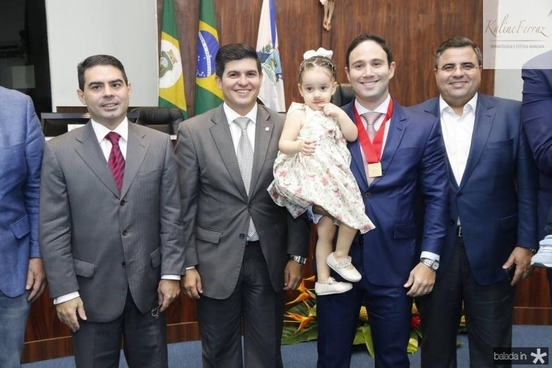 Bruno Carrah, Daniel Aragao, Bianca e Thiago Asfor e Fabio Timbo