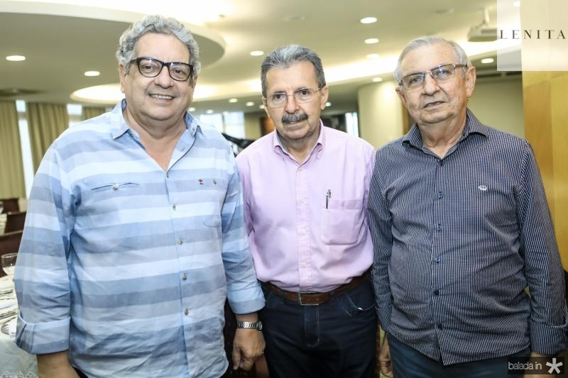 Fred Ferenandes, Egidio Serpa e Alvaro Correia