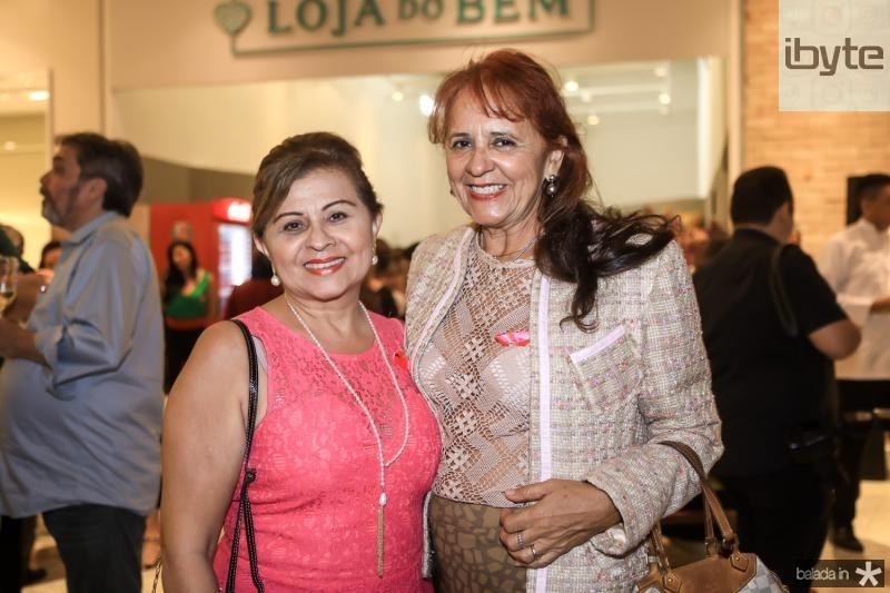 Silvana Frota e Fatima Duarte