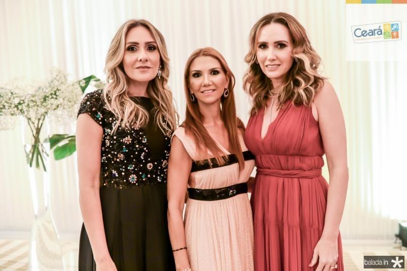 Renata Ciriaco, Weine Moreira e Roberta Nogueira