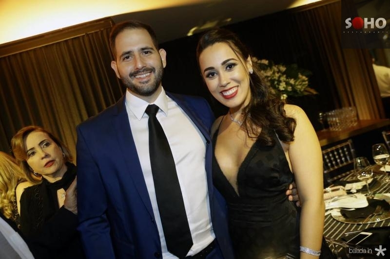 Camilo Alves e Elice Cescencio