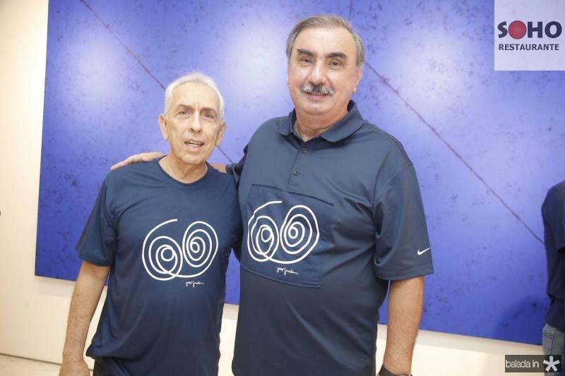 Paulo Ponte e Cesar Montenegro