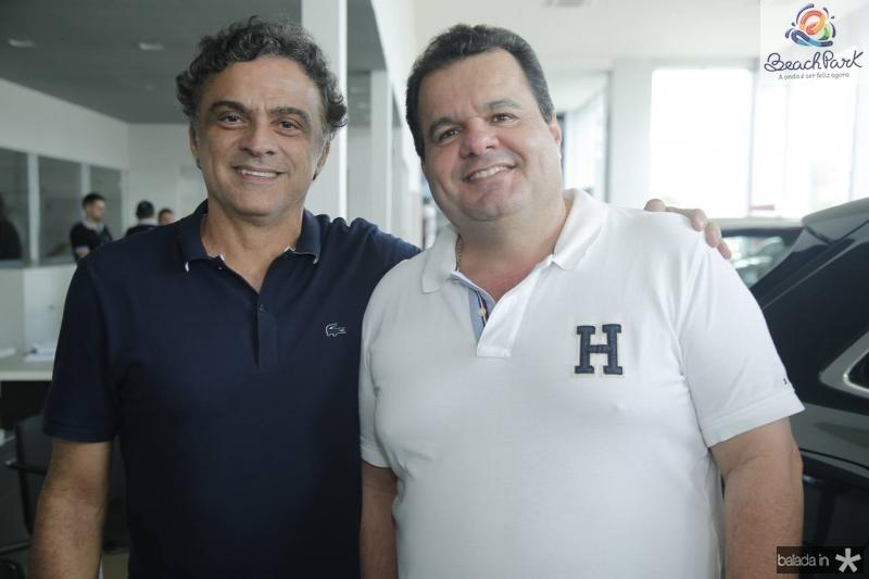 Marcos Frota e Rene Freire