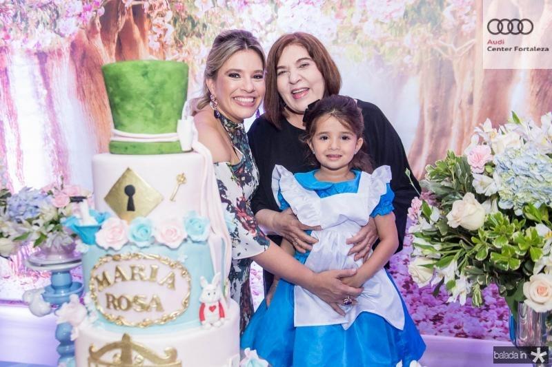 Ana Claudia Aguiar, Rosa Maria e Maria Rosa Aguiar