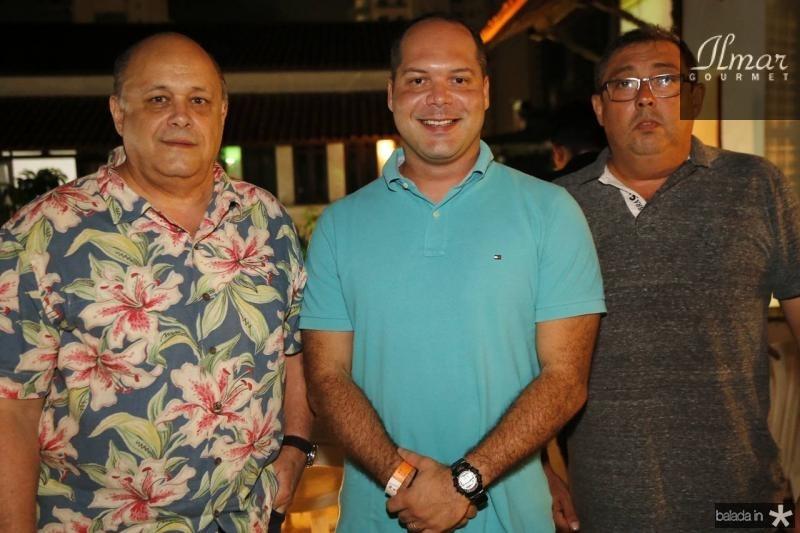 Philomeno Junior, Heitor Freire e Albino Oliveira