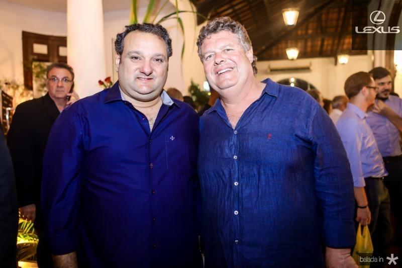 Patriolino Dias e Evandro Colares