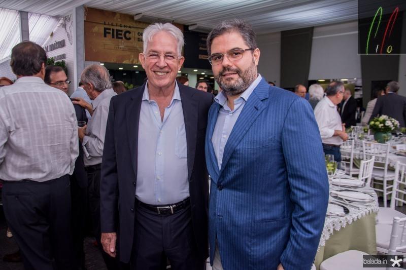 Carlos Prado e Edson Queiroz Neto
