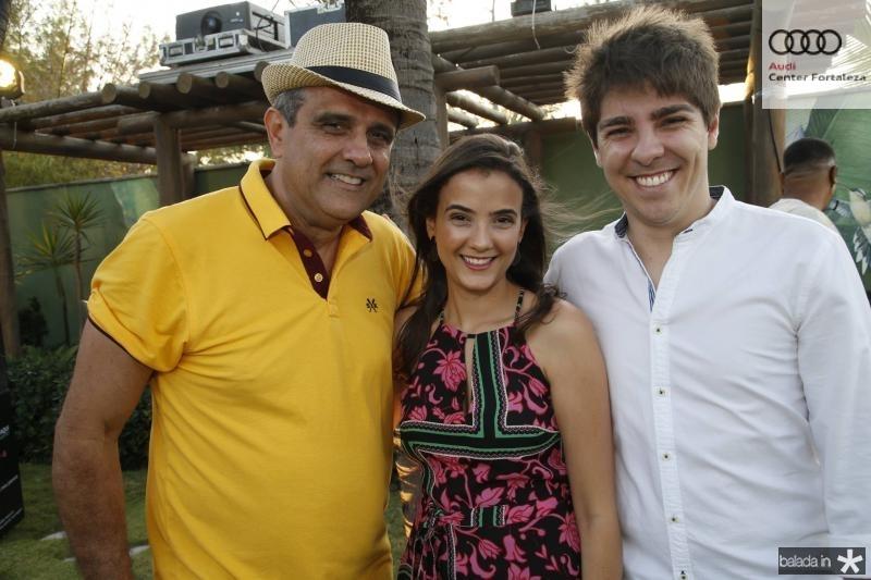 Andre e Paloma Vercosa e Carlos Almeida