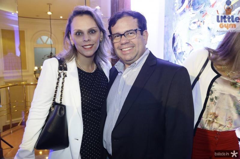 Luciana Becker e Rafael Bezerra