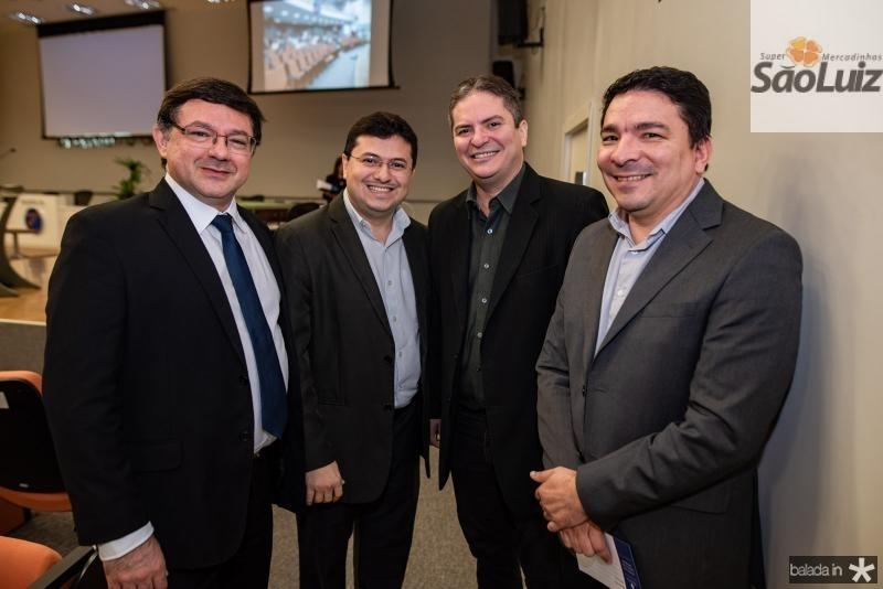 Teteni Cordeiro, Alexandro Silva, Auricio Oliveira e Wesley Silva