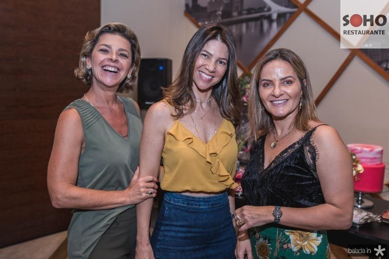 Ana Cristina Wolf, Cristiane Pinto e Simone Massaglia