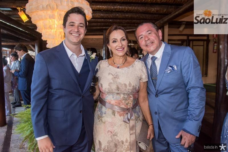 Joao, Nadya e Joao Cabral