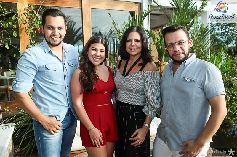 Diego Calado, Maria Clara e Maria Lucia Negrao, Roberto Alves
