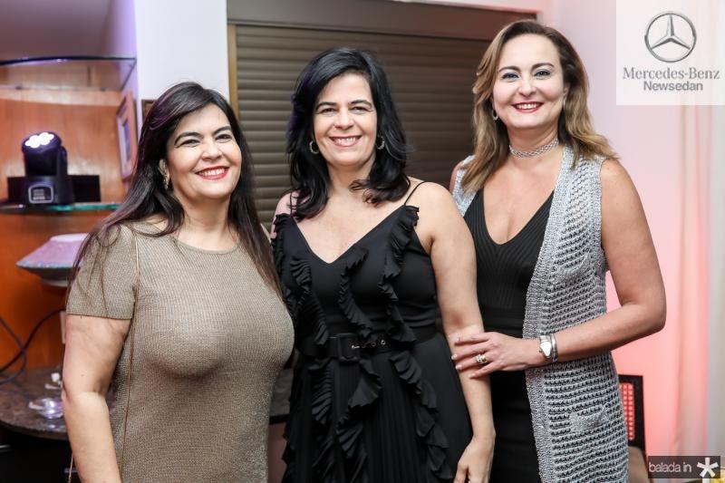 Denise Pinheiro, Ines Sobreira e Fatima Santana
