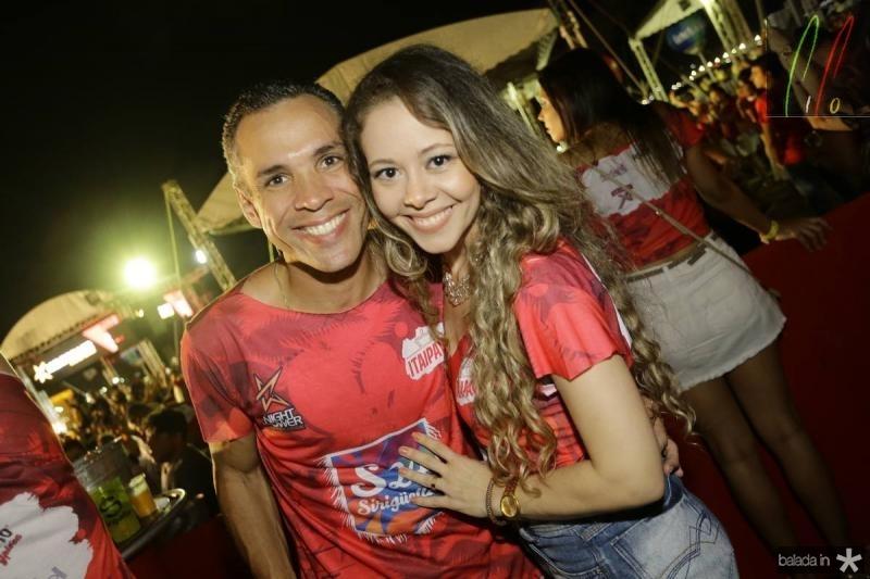 Clecio e Joana Fernandes